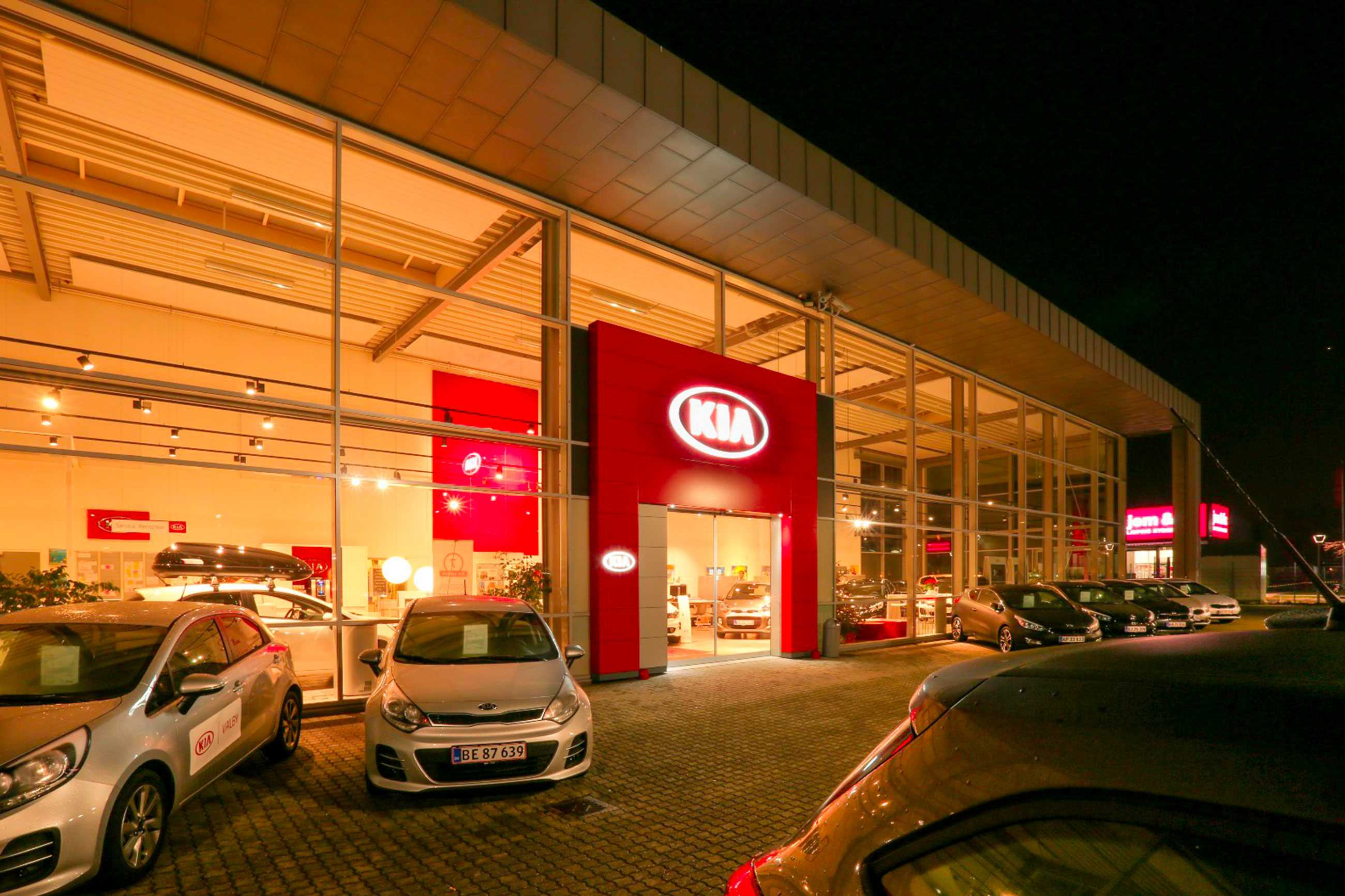 KIA & MG Valby - Nellemann A/S
